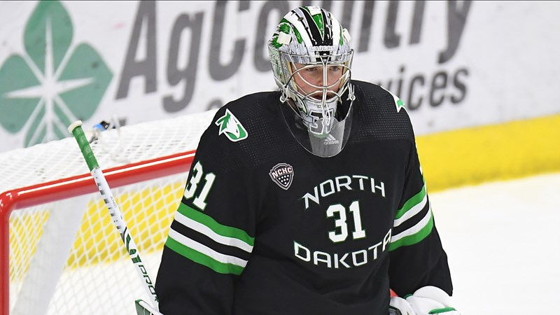 Scheel earns another NCHC weekly honor