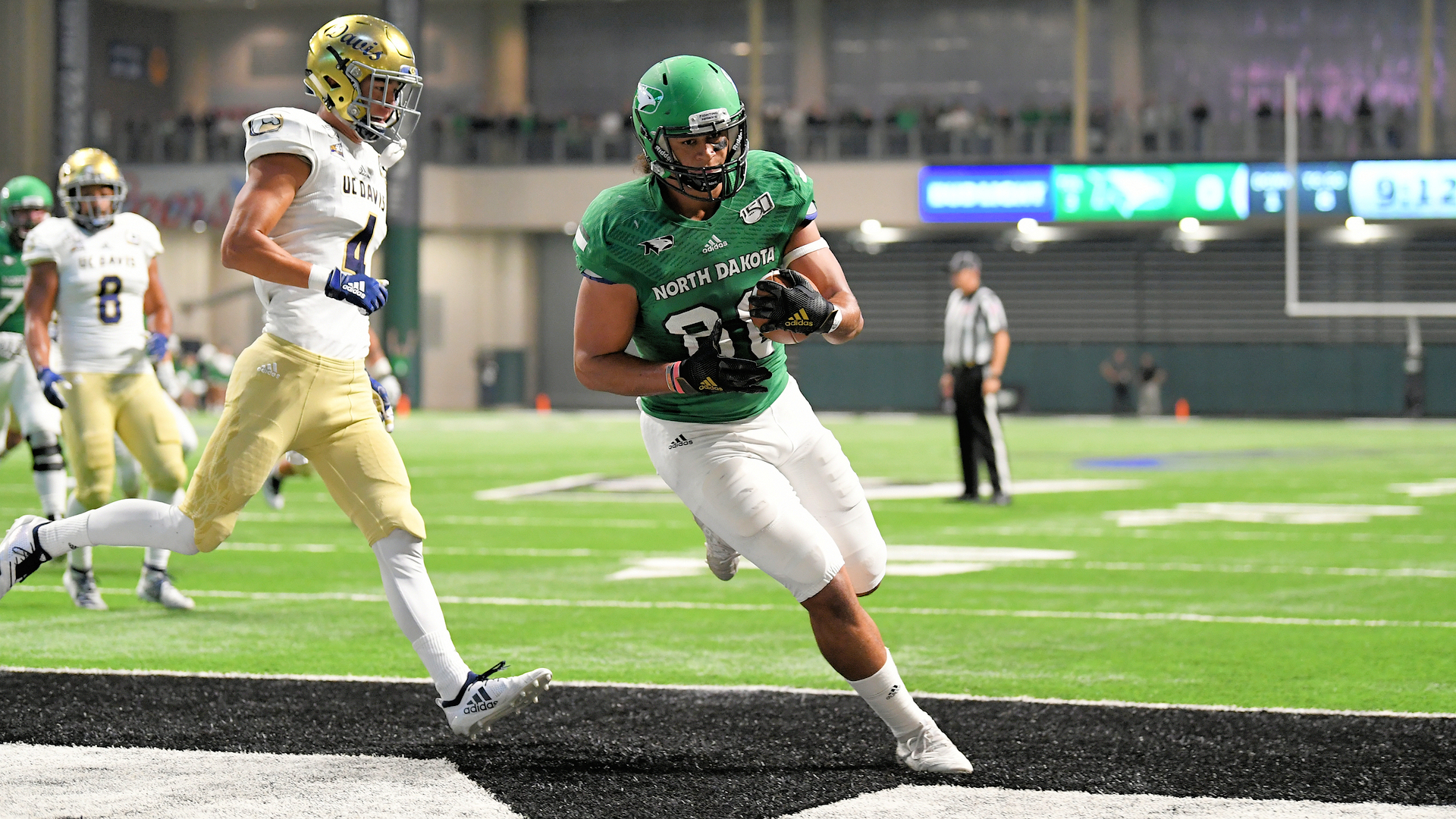 NCAA FCS Football 2019: UC Davis vs North Dakota OCT 05
