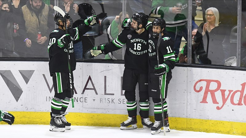 UND storms into the break with a 13-game unbeaten streak after 8-2 thrashing at WMU