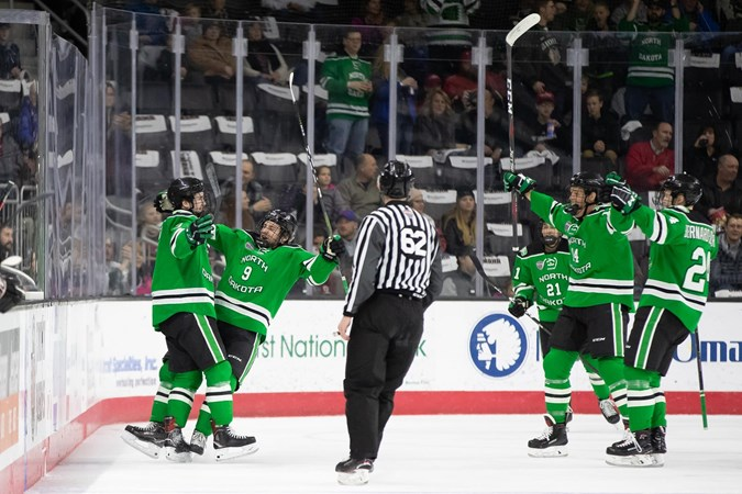 Notes: UND facing rare challenge in NCHC Quarterfinals - University of North Dakota Athletics