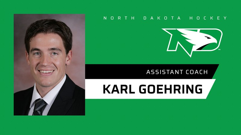 Goehring comes home to fill assistant coach spot at UND - University of North Dakota Athletics