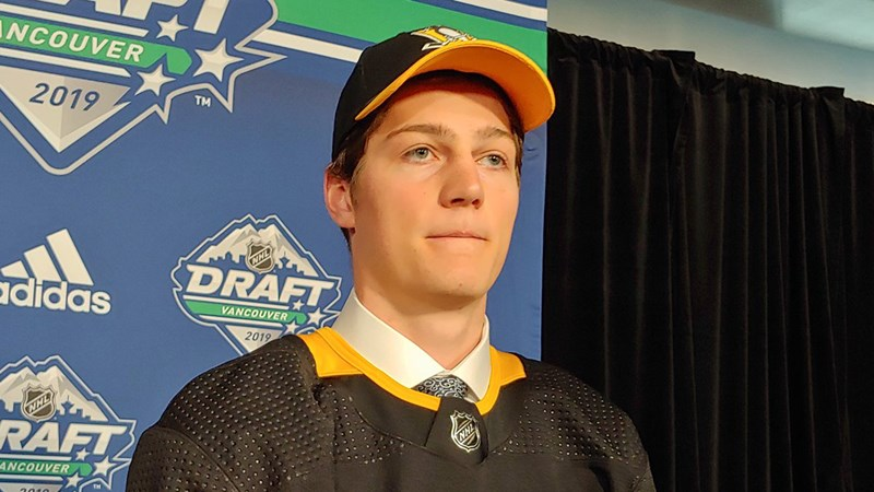 Grand Forks product Caulfield picked by Penguins