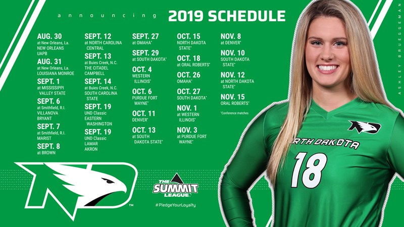 Fighting Hawks Volleyball Announces 2019 Schedule