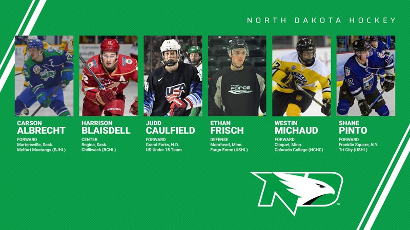 UND adds six newcomers to 2019-20 roster