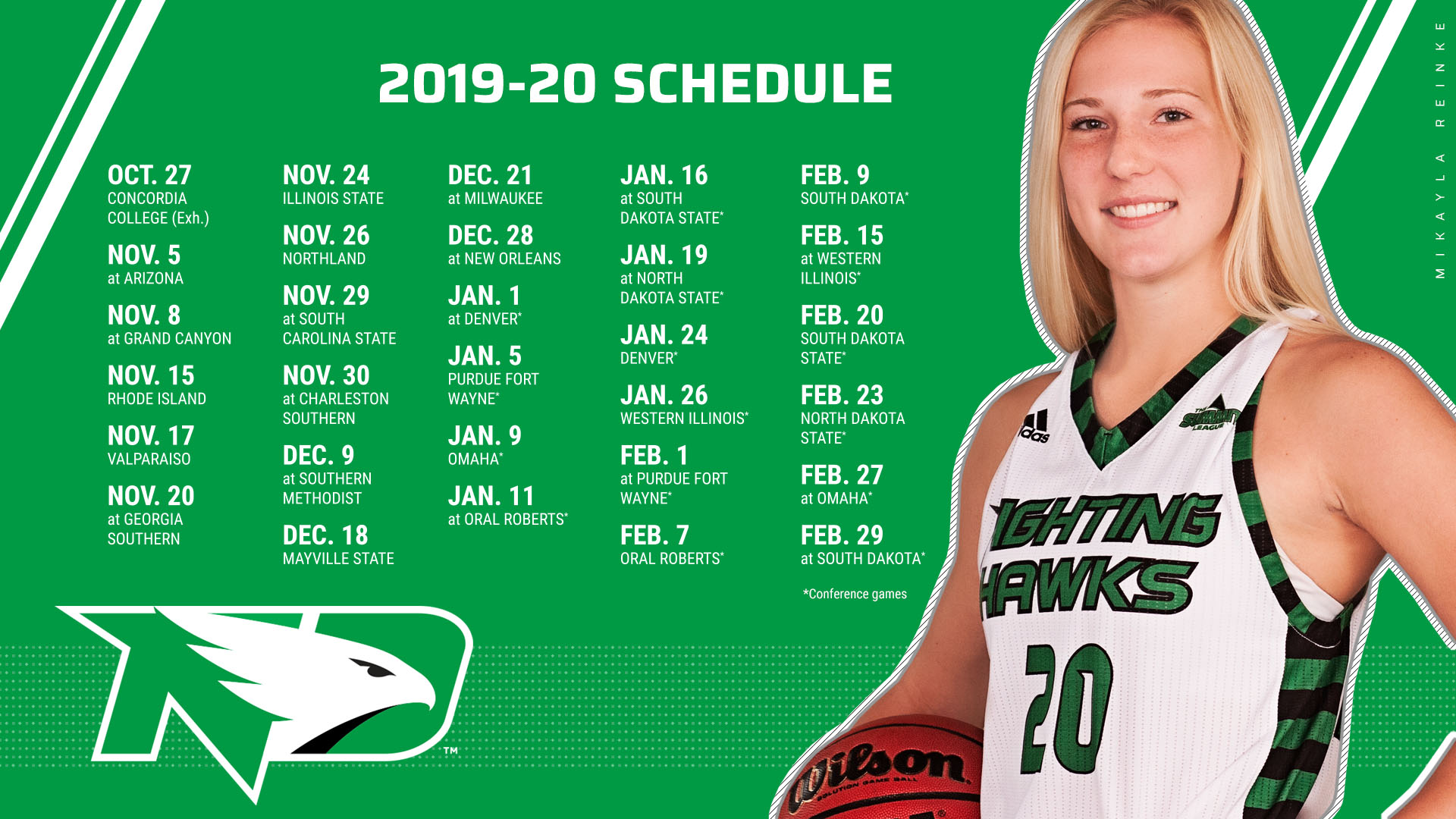Women S Hoops Releases Non Conference Schedule University