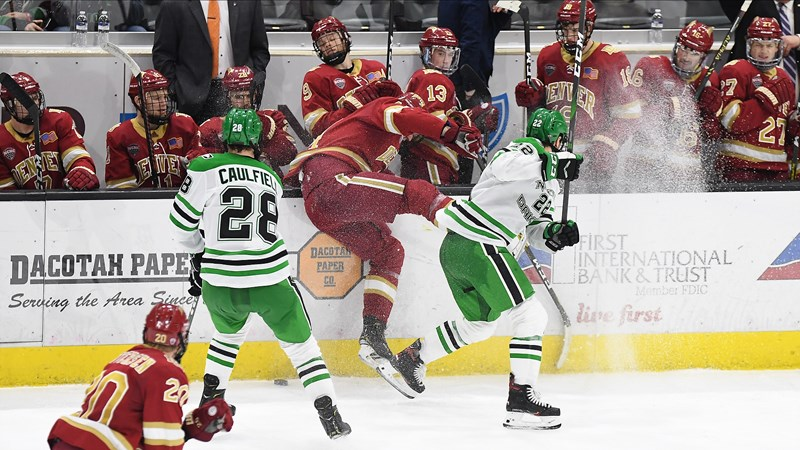 Notes: UND seeks more distance in NCHC race - University of North Dakota Athletics